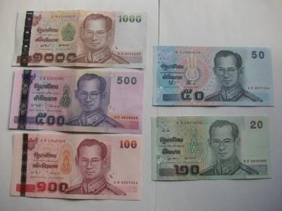 タイの紙幣